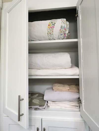 Linen closet doors