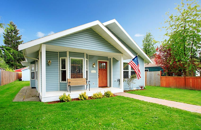Small ranch style modular home