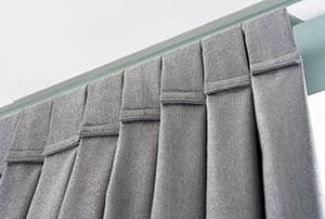 Tab top curtains with velcro