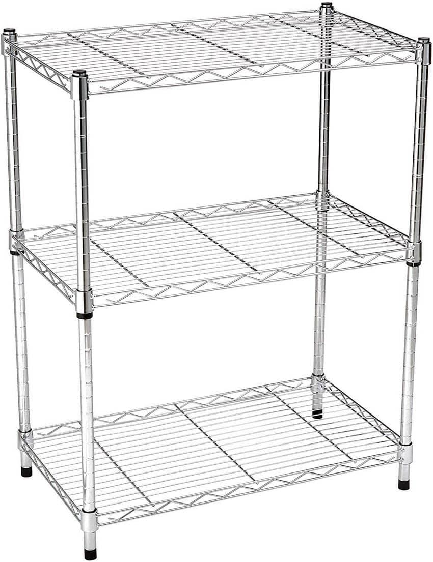 Kitchen Appliance Storage Rack