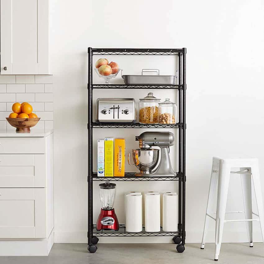 Kitchen Appliance Storage Rack2