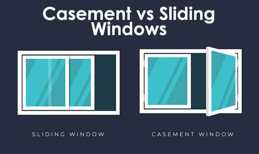 Casement vs sliding windows