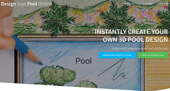 Design your pool online free software