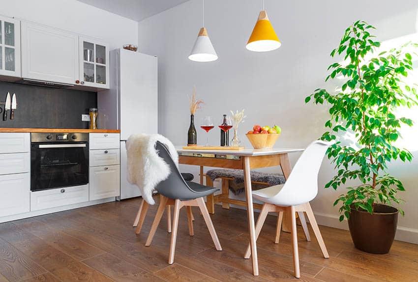 Eames dining chair modern kitchen