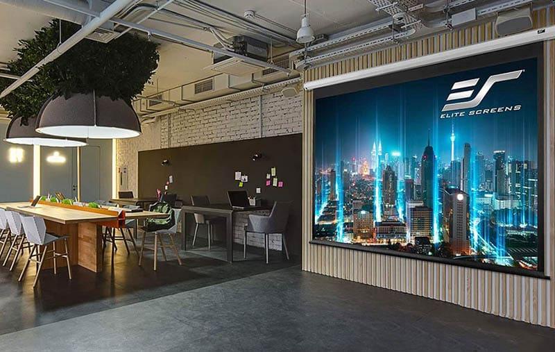 Elite screens vmax2 projector screen