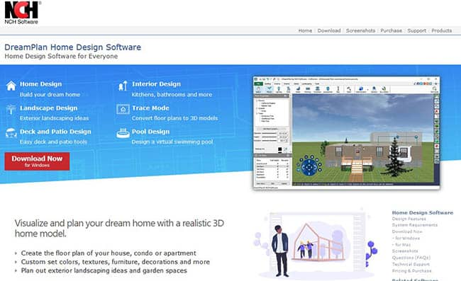 Nch pool design software