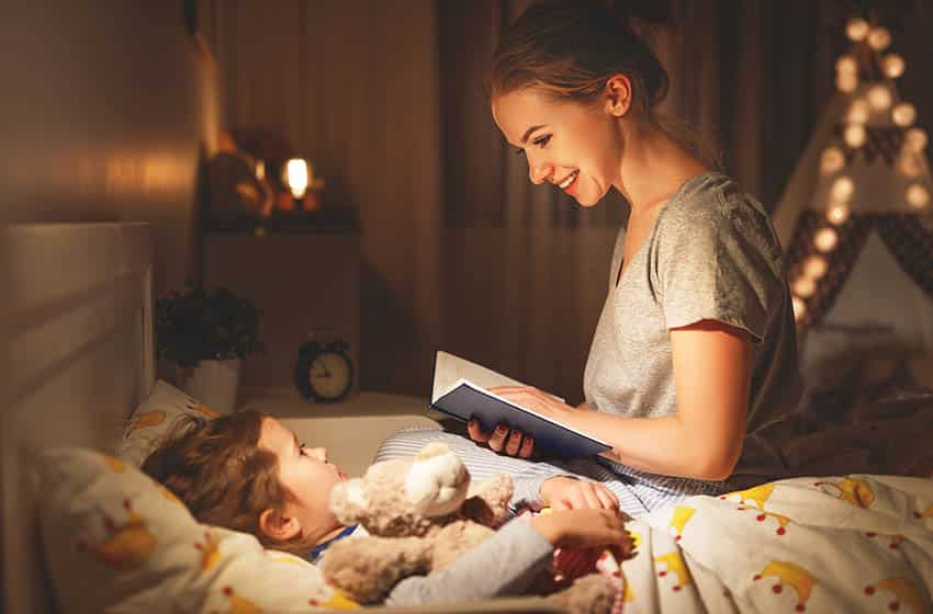 Night reading soft light