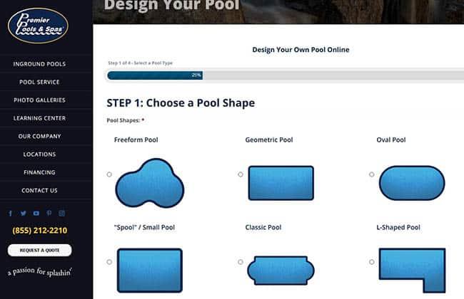 Premier pool spas design your pool