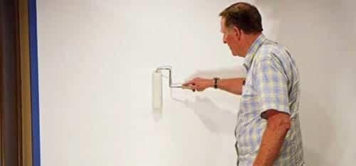 Projector paint digital image projection