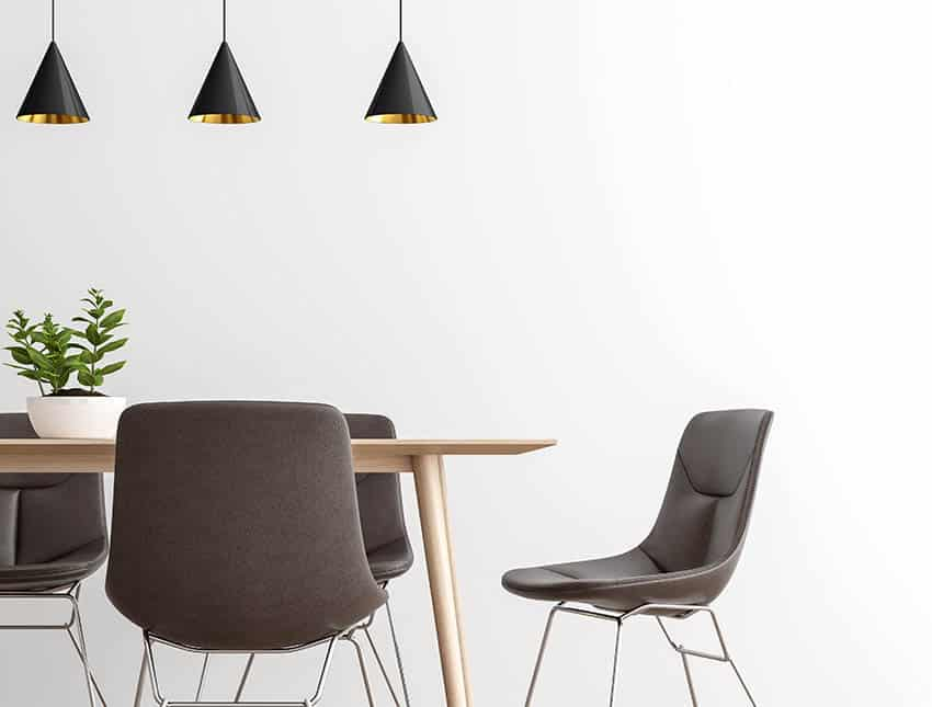 Slope dining chairs