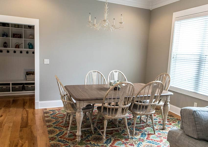 Splat back dining chairs