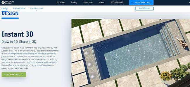 Top 10 Pool Design Software Programs Free Paid Designing Idea
