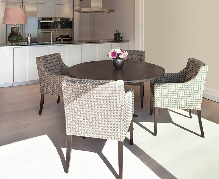 Upholstered dining armchairs