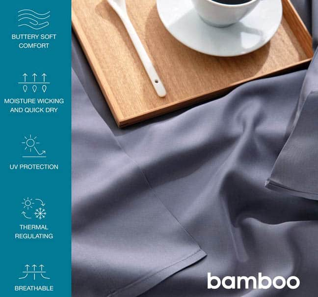 Bamboo bed sheets pros
