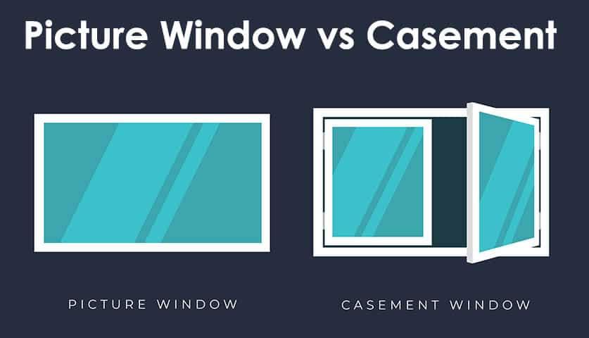 Casement vs picture windows
