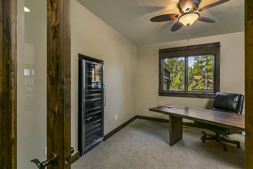 Craftsman home with home office