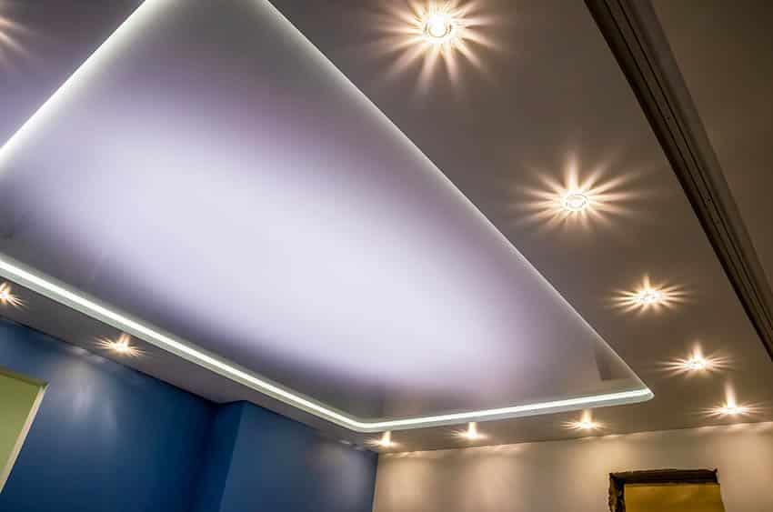 Drop ceiling lights