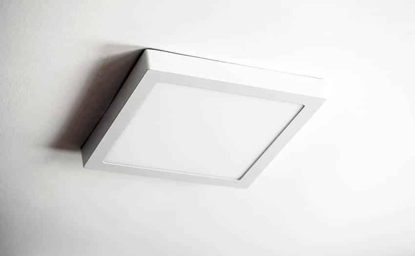 Flush light ceiling fixture
