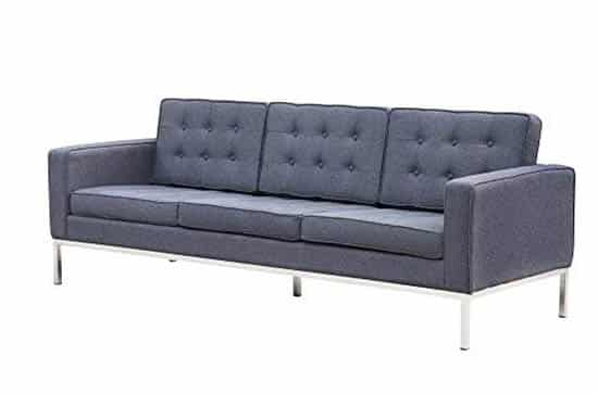 Modern wool couch