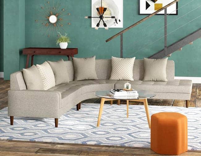 Nylon modular couch