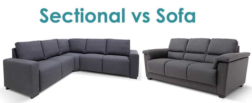 Sectional vs sofa