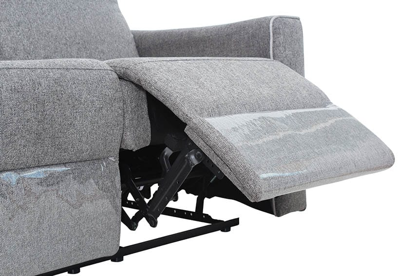 Sofa with recliner seat