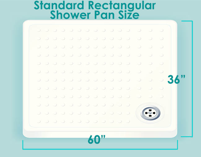 Standard Rectangular Show Base