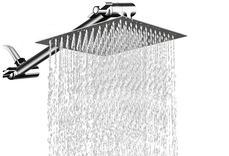 12 inch high pressure rainfall shower head