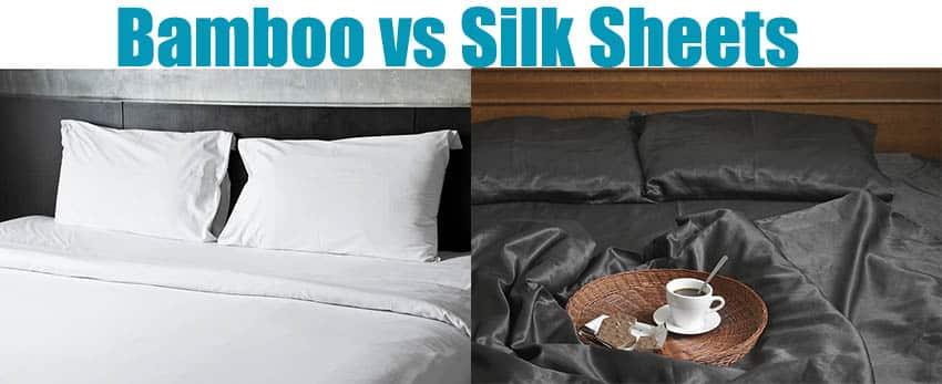 Bamboo vs silk bed sheets