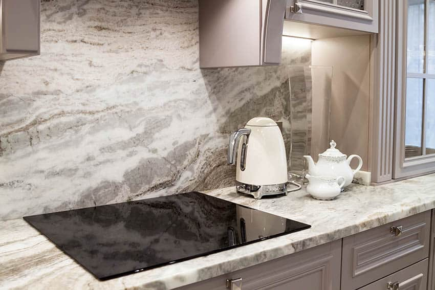 Electric ceramic cooktop