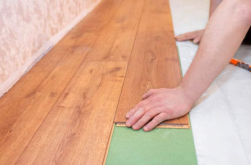 Installing spc flooring