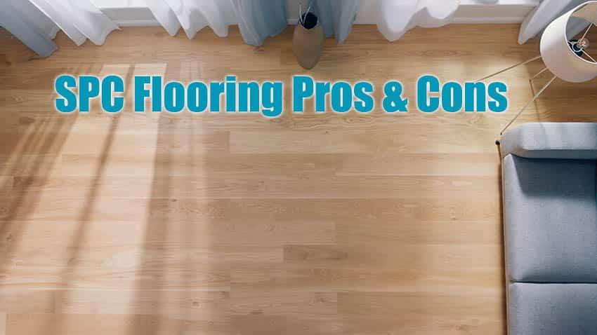 Spc flooring in living room