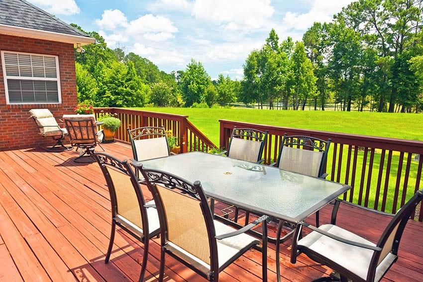 Outdoor aluminum patio furniture