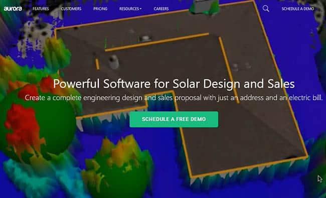 Aurora solar design software