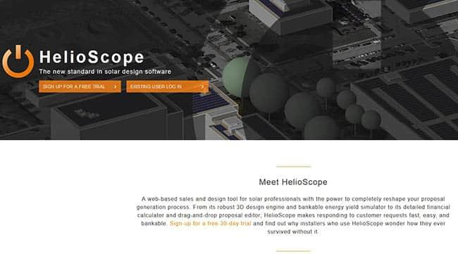 Helioscope solar design software