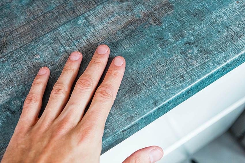 Painted laminate countertops