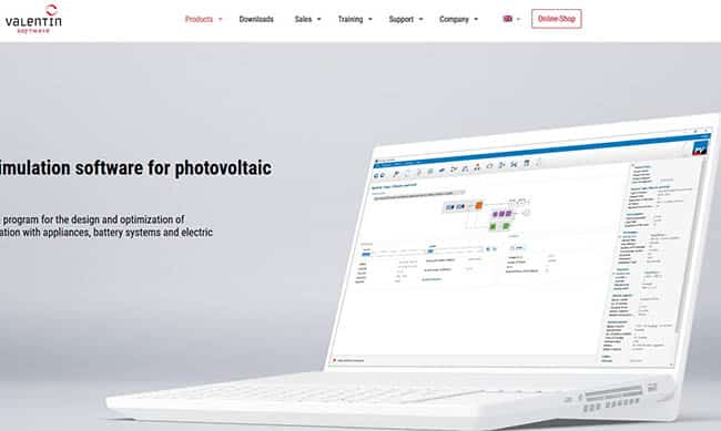Pvsol photovoltaic design software