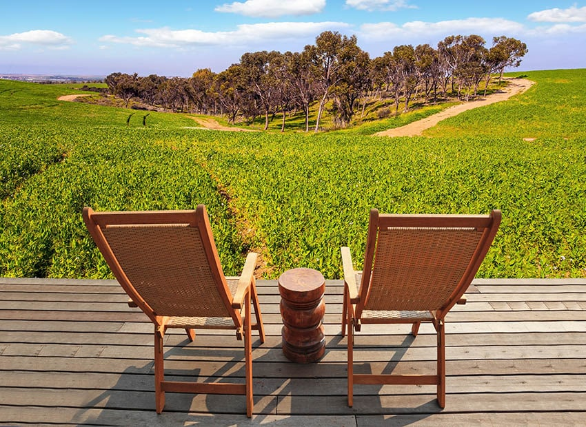 Acacia wood outdoor chairs furniture