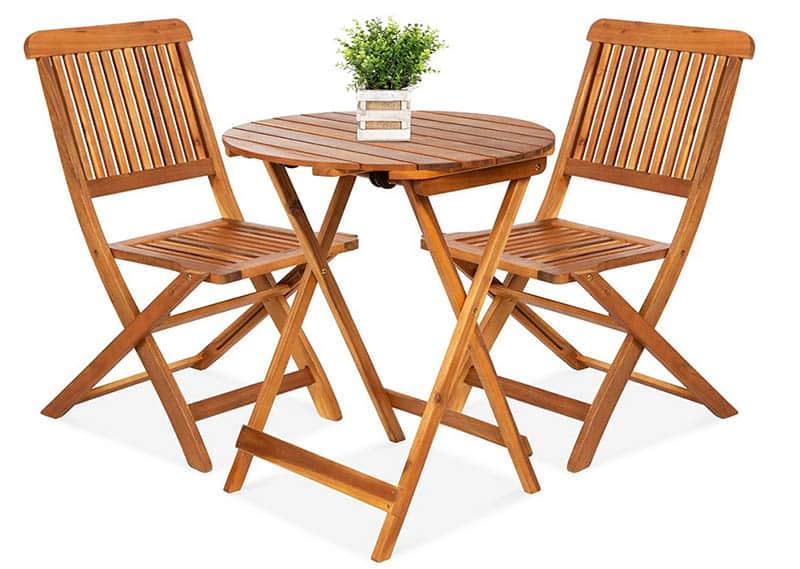 Acacia wood patio furniture