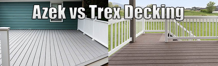 Azek vs trex decking comparison guide