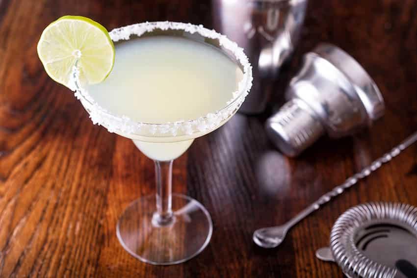 Tequila margarita cocktail drink