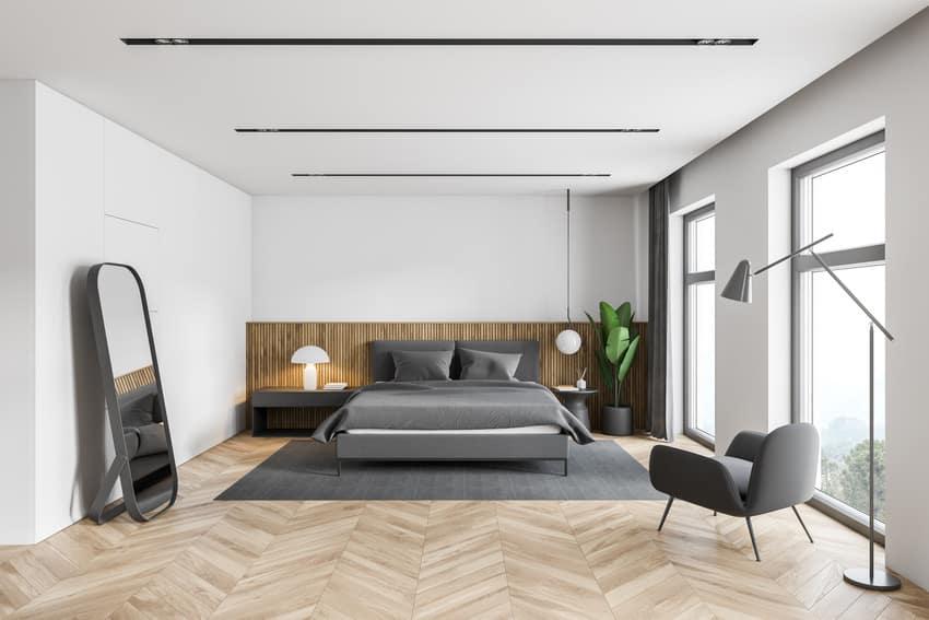 Best finish for bedroom ceiling