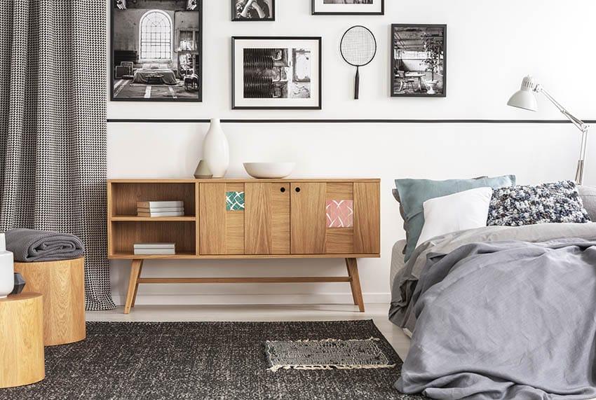 Laminate bedroom furniture