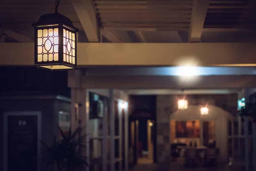 Porch light affects moods