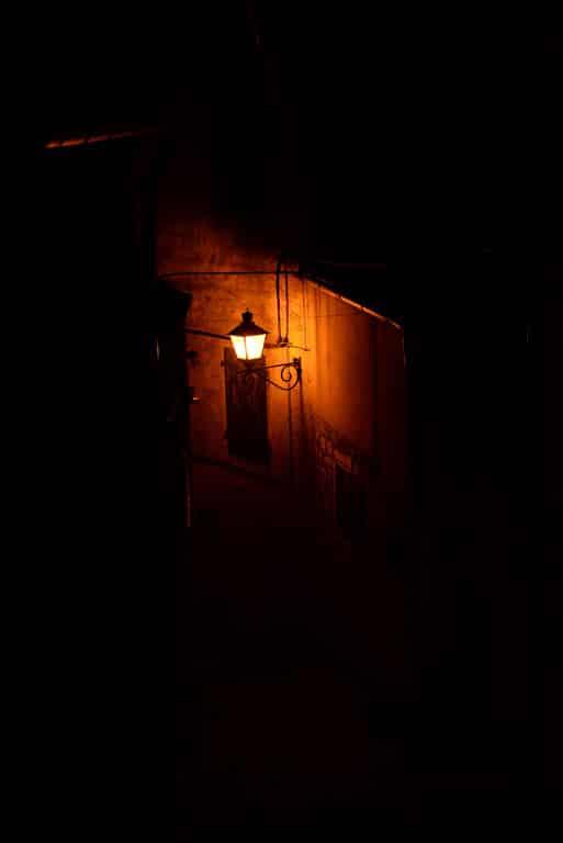 Red porch light represents awareness