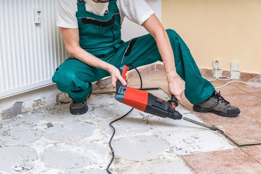 Fastest way to remove tiles
