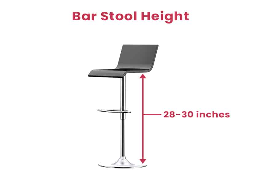 Bar Stool Height Measurement