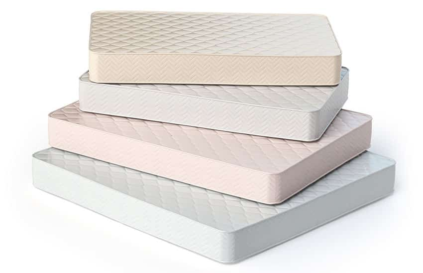 Mattresses in different sizes is