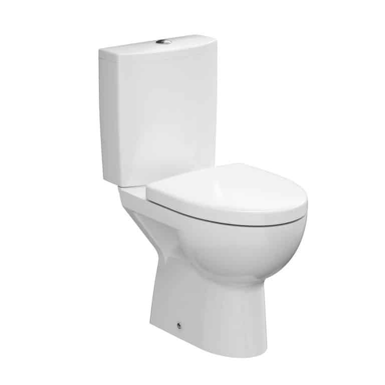 D-shaped toilet seat
