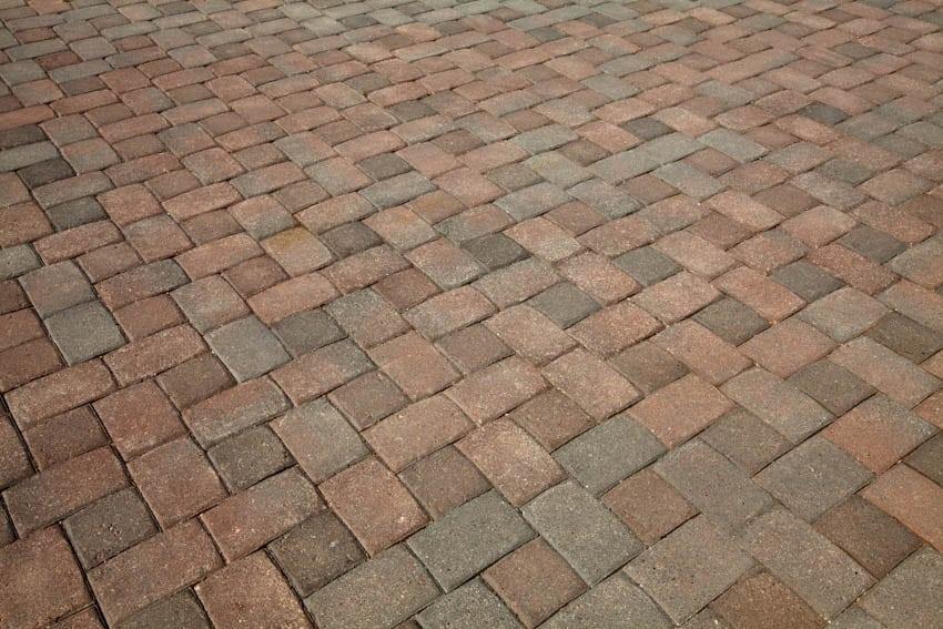 Driveway permeable paver